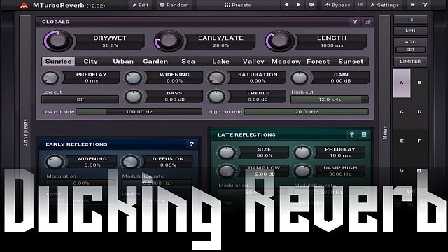 MTurboReverb: Ducking reverb using MTurboReverb