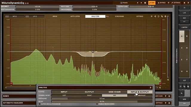 Using audio analyzers & sonograms