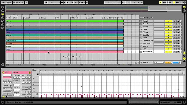 4 - Creating a drum track in Ableton Live