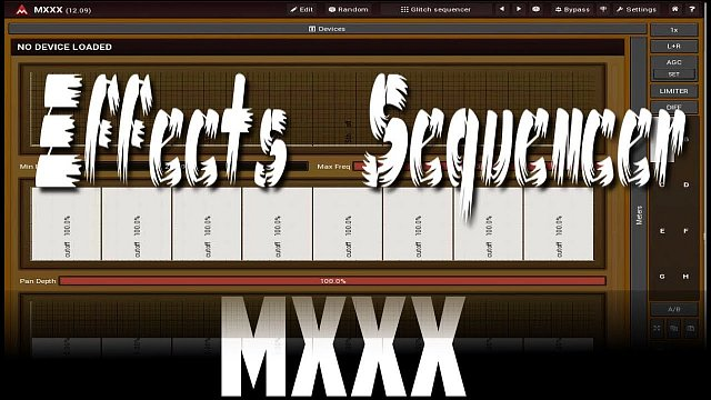 MXXX: FX sequencing using MXXX