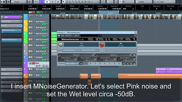 MSpectralDynamics: Noise reduction video tutorial