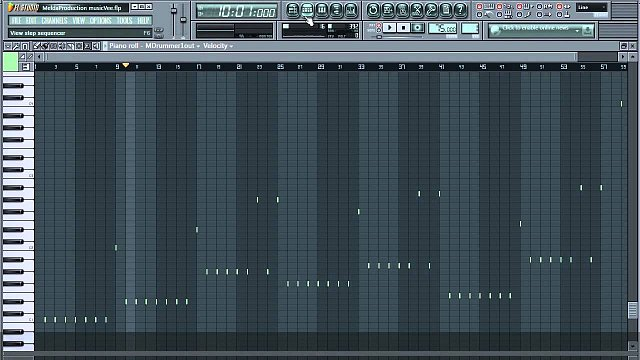 4 - Creating a drum track in FL Studio