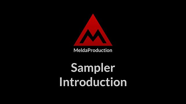 #10 - Sampler, part 1 - Introduction