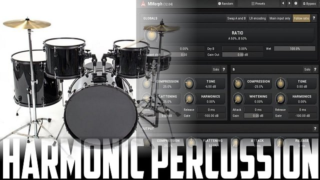 MMorph: MMorph + Drums + Pad = FUN