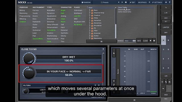 MXXX: Video tutorial #3 - Modulators, multiparameters and active presets