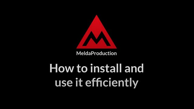 #1 - How to install and use it efficiently
